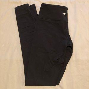 Full length black lululemon align leggings